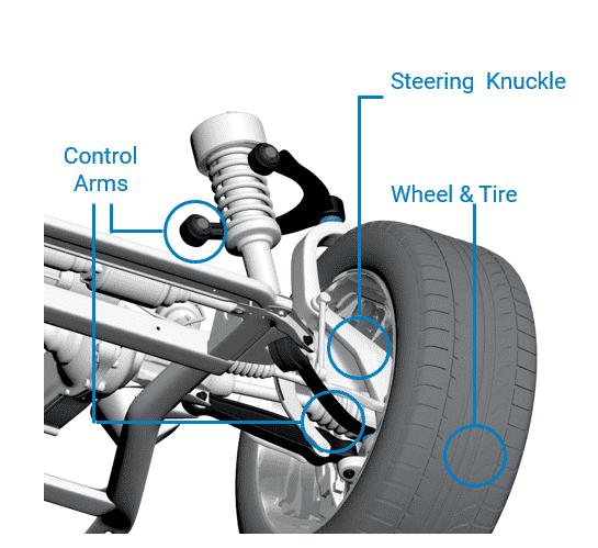 Pair Set 2 Front Lower Control Arm Bushings Includes Bolt /& Nut Mevotech For CL