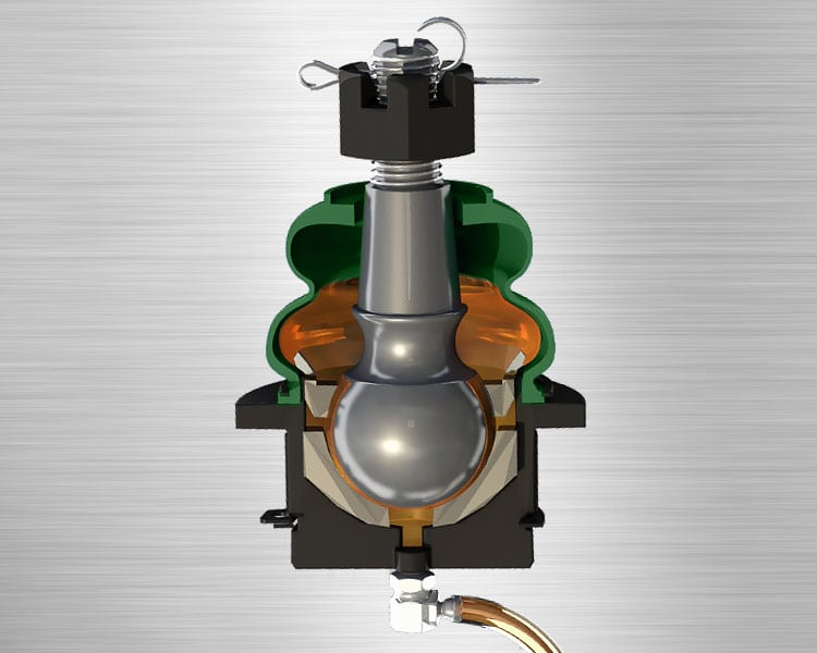 Mevotech Front Lower Suspension Control Arm Bushing MK8512