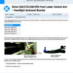 MI-20-025-02-01-E-Volvo-C30-C70-S40-V50-Front-Lower-Control-Arm-with-Headlight-Autolevel-Bracket