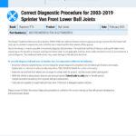 MI-21-049-01-01-E-Correct-Diagnostic-Procedure-for-2003-2019-Sprinter-Van-Front-Lower-Ball-Joints