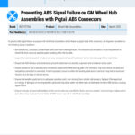 MI-21-056-03-01-E-Preventing-ABS-Signal-Failure-on-GM-Wheel-Hub-Assemblies-with-Pigtail-ABS-Connectors