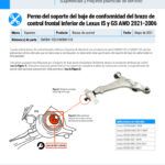 2021-2006-Lexus-IS-and-GS-AWD-Front-Lower-Control-Arm-Compliance-Bushing-Bracket-Bolt-ES