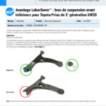 FR-Major-LaborSaver-Toyota-Prius-Generation-II-XW20-Front-Lower-Control-Arms