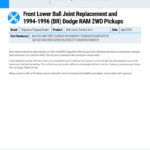 Front-Lower-Ball-Joint-Replacement-and-1994-1996-BR-Dodge-RAM-2WD-Pickups-EN