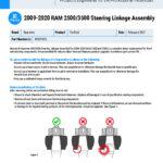 2009-2020-RAM-25003500-Steering-Linkage-Assembly-EN