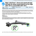 Major-LaborSaver-2007-2014-Ford-Edge-and-2007-2015-Lincoln-MKX-Front-Lower-Control-Arm-Bushing-Bracket-Bolts-ES