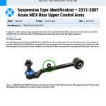Suspension-Type-Identification-–-2013-2007-Acura-MDX-Rear-Upper-Control-Arms_EN