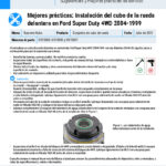 Best-Practices-2004-1999-Ford-Super-Duty-4WD-Front-Wheel-Hub-Install-ES