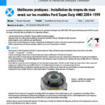 Best-Practices-2004-1999-Ford-Super-Duty-4WD-Front-Wheel-Hub-Install-FR