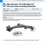 Major-Labor-Saver-2015-2007-Mazda-CX-9-Front-Lower-Control-Arm-Bushing-Bracket-Bolts-EN