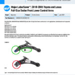 Major-LaborSaver-2018-2005-Toyota-and-Lexus-Full-Size-Sedan-Front-Lower-Control-Arms-EN