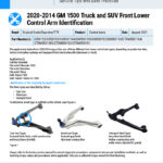 2020-2014-GM-1500-Truck-and-SUV-Front-Lower-Control-Arm-Identification-EN