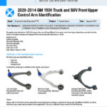 2020-2014-GM-1500-Truck-and-SUV-Front-Upper-Control-Arm-Identification-EN