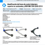 2020-2014-GM-1500-Truck-and-SUV-Front-Upper-Control-Arm-Identification-ES