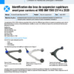 2020-2014-GM-1500-Truck-and-SUV-Front-Upper-Control-Arm-Identification-FR