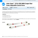 Labor-Saver™-2016-2002-MINI-Cooper-Rear-Lower-Adjustable-Control-Arms-EN